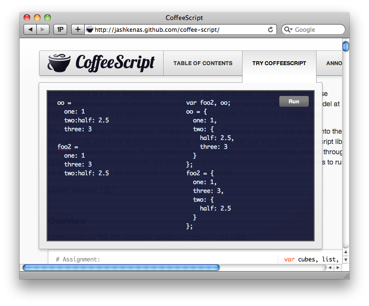 Try CoffeeScript