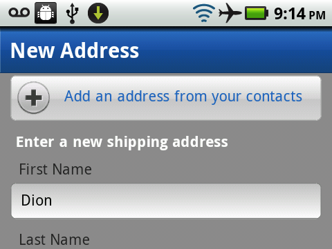 addressfromcontacts