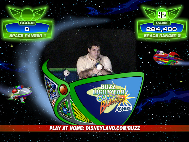 Buzz Lightyear Disneyland Game