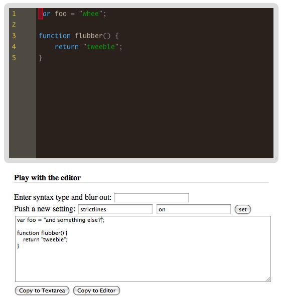 editor component