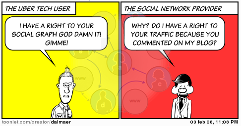 Gimme My Social Graph