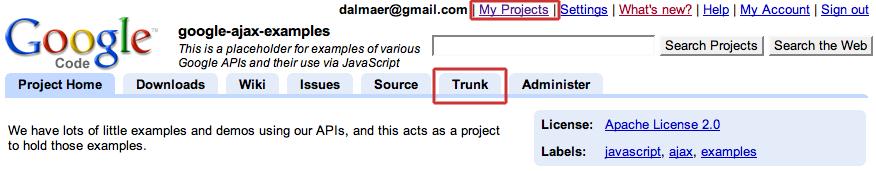 Greasemonkey: Google Code Project