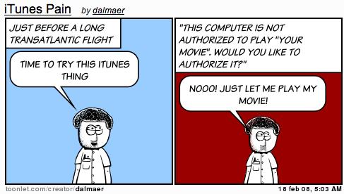 iTunes Pain