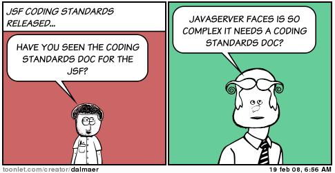 JSF Coding