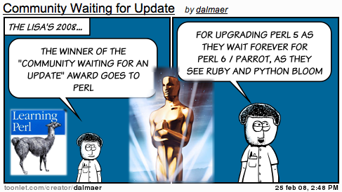 Lisa Awards: Community Waiting for an Update