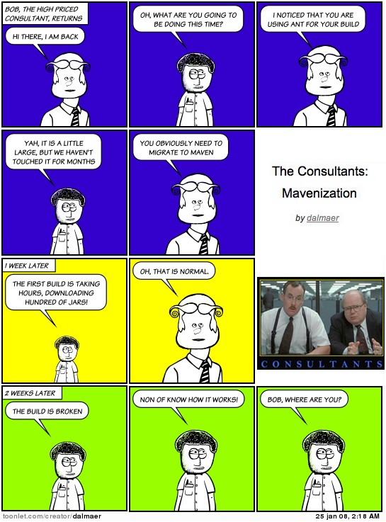 The Consultants: Mavenization