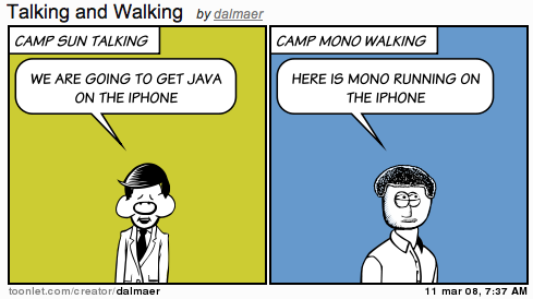 Mono Java iPhone