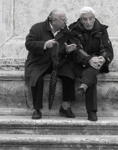 Old Men Talking