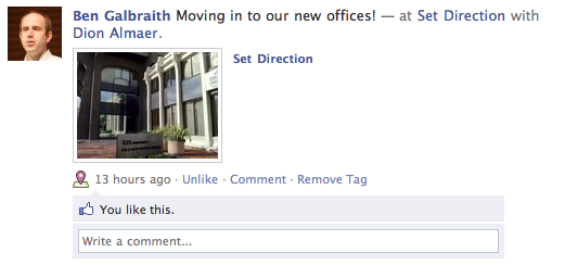 Moving into Set Direction Offices